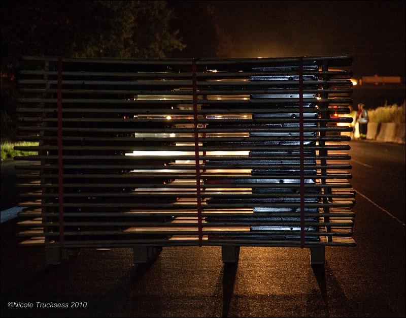 Sie betrachten ein Bild aus dem Artikel: Still-Leben A 40 - die Schlagader des Potts wird stillgelegt