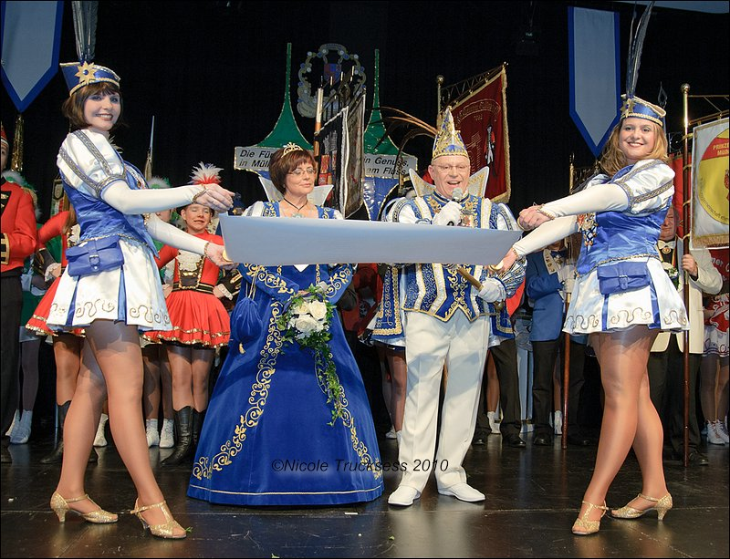 Sie betrachten ein Bild aus dem Artikel: Prinzenproklamation in der Stadthalle Mülheim an der Ruhr